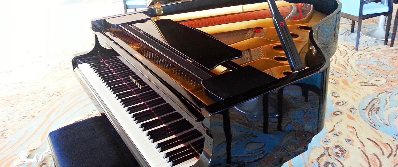 Hosting a YAMAHA C3 piano