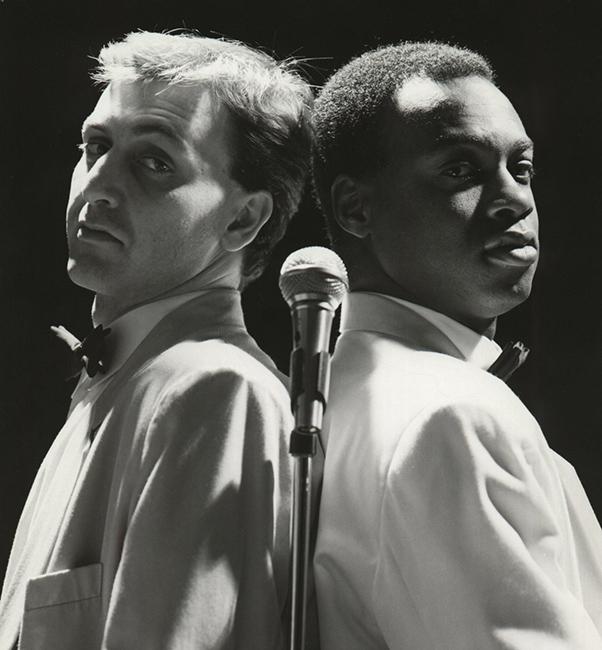 iannis Christodoulou & Stephen Bowen, London 1990
